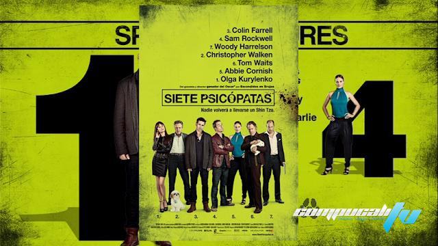 Siete Psicópatas DVDR NTSC Español Latino