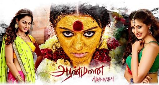 Aranmanai 2014 Hindi Dual Audio UnCut 720p & 480p Download