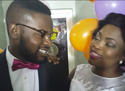 The duo who walked out of the Africa Magic Viewers Choice Award  AMVCA       with an award each  Falz with Best Actor in a Comedy and Funke Akindele with