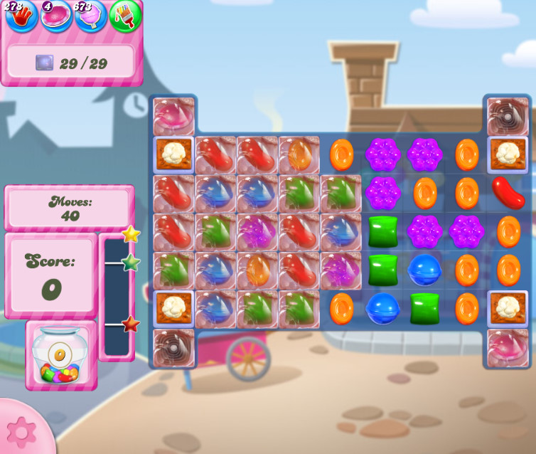 Candy Crush Saga level 2721