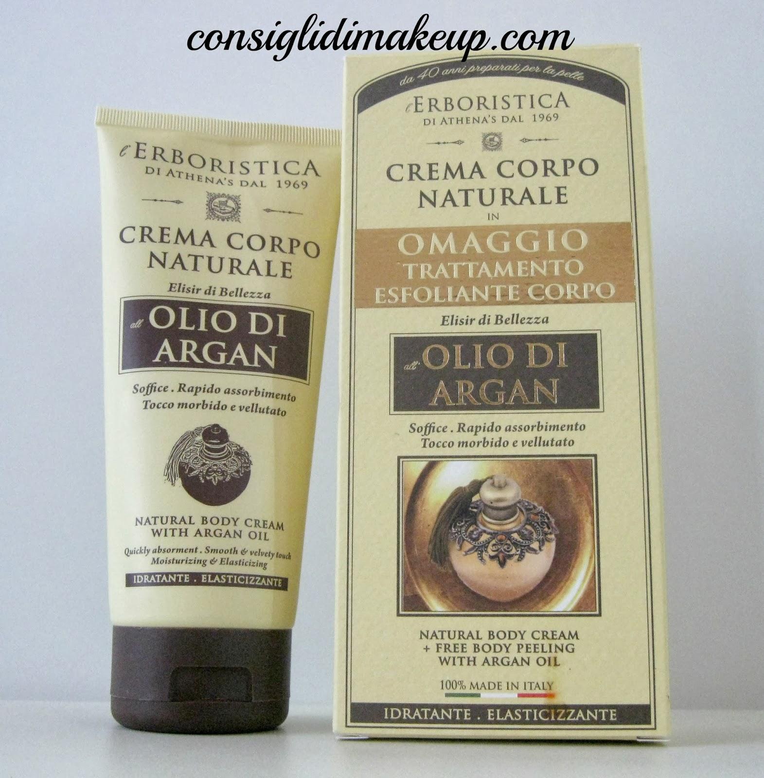 Review: Crema Corpo Naturale All'olio Di Argan- L