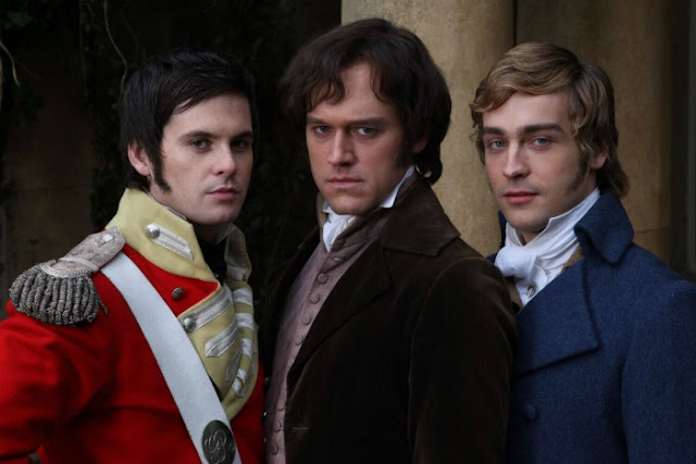 Lost in Austen (2008) - 'Pride and Prejudice' Reimagined with Hilarious (albeit Messy!) Results. A fun re-spin of the Austen classic. All text is © Rissi JC
