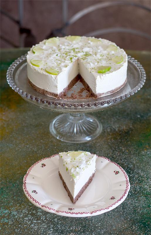Presna limetina torta kos