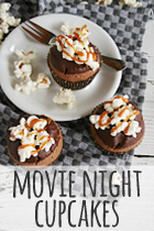 movie night cupcakes recipe