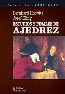 """Libro """"Estudios y finales de ajedrez"""" de Kling y Horwitz"""