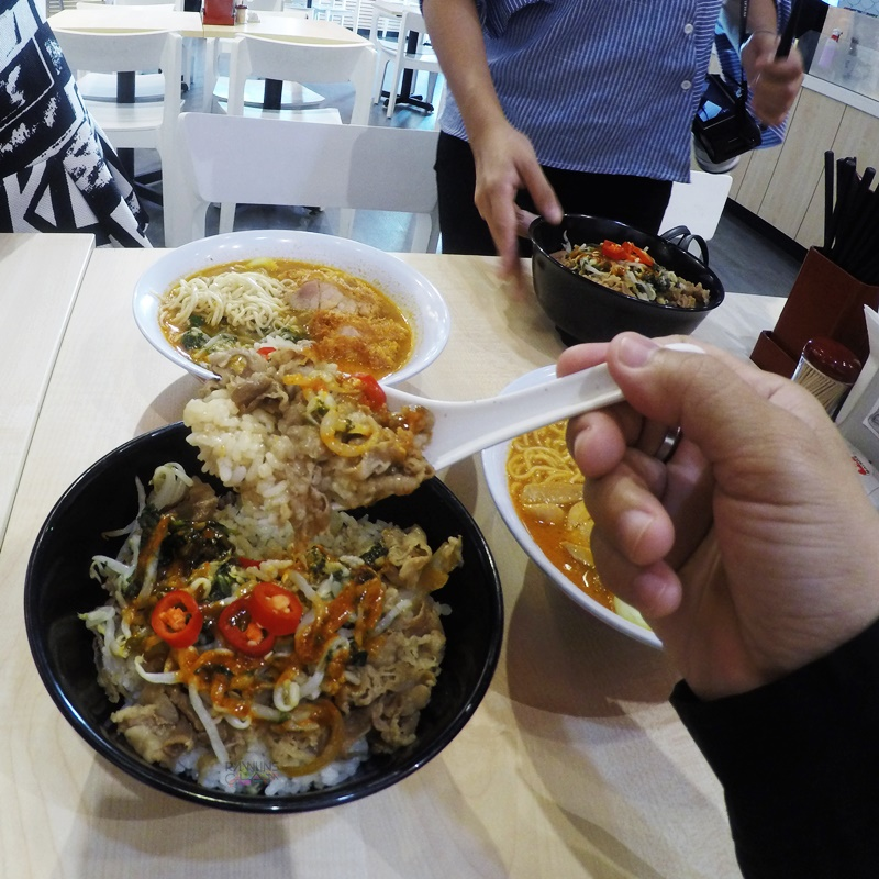 Sukiya, Sukiya Malaysia, Gyudon, Raman, The most spicy gyudon in Malaysia, Volcano Chili Fair, Food Review by Rawlins, Japanese Dishes,