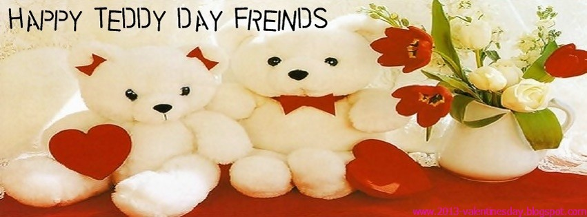 Happy Teddy Day Facebook Timeline Covers Valentines Day