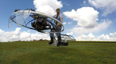 Wow, Inilah Cikal Bakal Sepeda Terbang