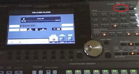 Cara Rekam Langsung Song Midi Menjadi MP3 Atau WAV Di Keyboard Yamaha PSRS