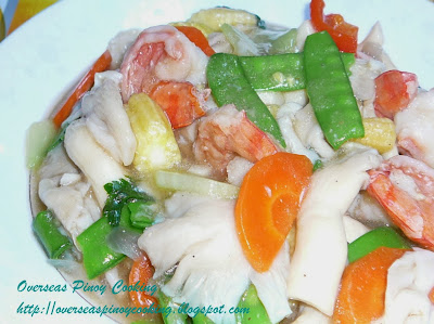 Oyster Mushroom and Vegetables Stirfry