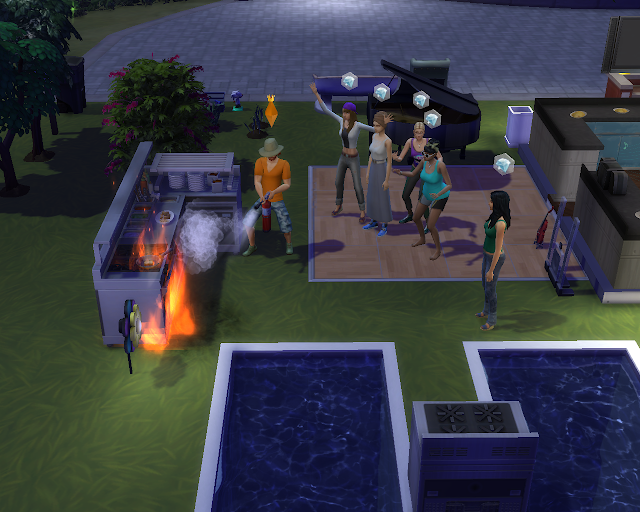 The sims 4 | Fire Alert