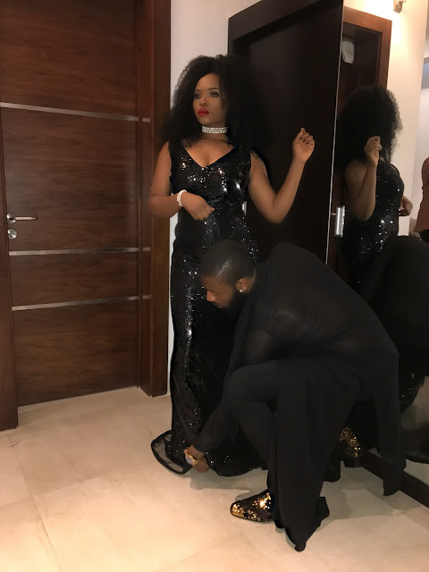 Yemi Alade dazzles in black for her birthday dinner