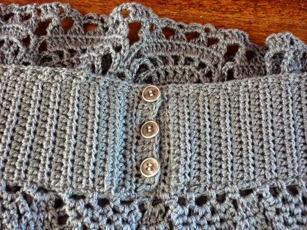 ba92f543a Bella falda crochet / patrones gratis | Crochet y Dos agujas ...