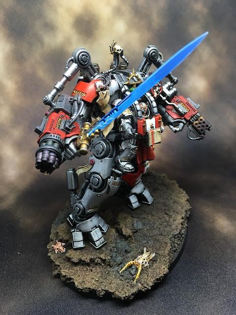 WIP Grand Master in Nemesis Dreadknight Right Profile