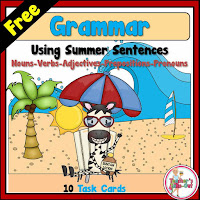 Free Grammar Sentences for Summer