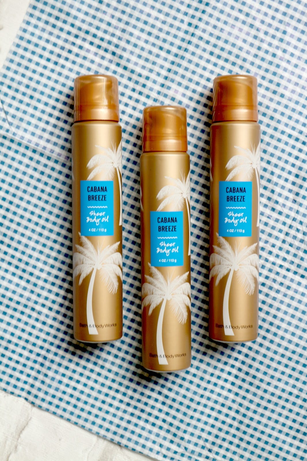 Bath and Body Works Sheer Body Oil