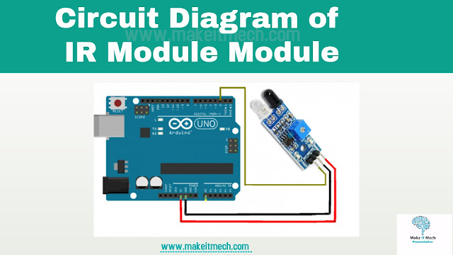 how to use ir sensor module with arduino circuit diagram and code