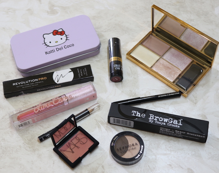 January-March 2019 Makeup Giveaway Results
