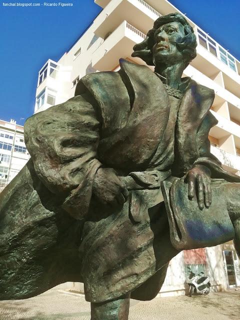 ESTÁTUA DE JOÃO GONÇALVES ZARCO - LISBOA