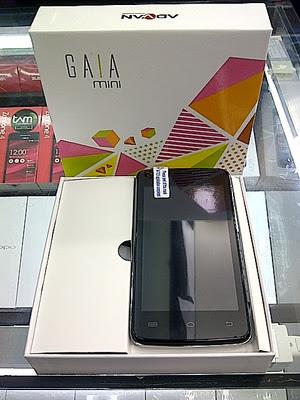 Advan Gaia Mini S4H hp android di bawah satu juta
