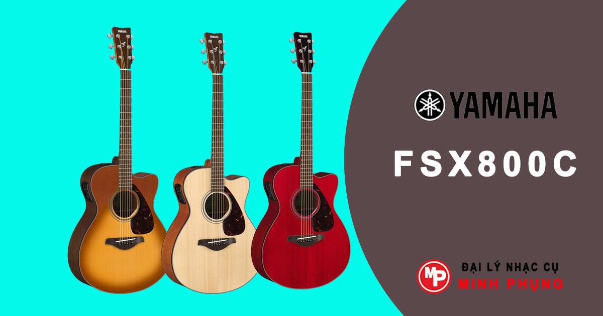 Đàn Guitar Acoustic Yamaha FSX800C Chính Hãng