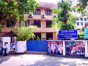 Beer party at Ambalangoda Prajapathi Gothami Girls' School ... caught high and dry!