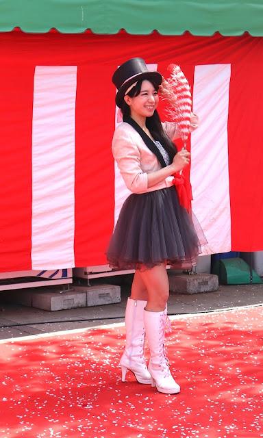 桜祭り|女性マジシャン・アリス(有栖川 萌)|☆マジックショー・イリュージョン・和妻の出張・出演依頼受付中☆