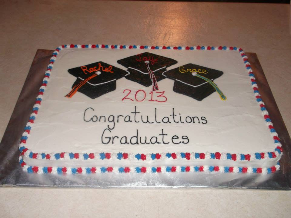 Amanda S Whimsical Cakes Graduation Sheet Cake