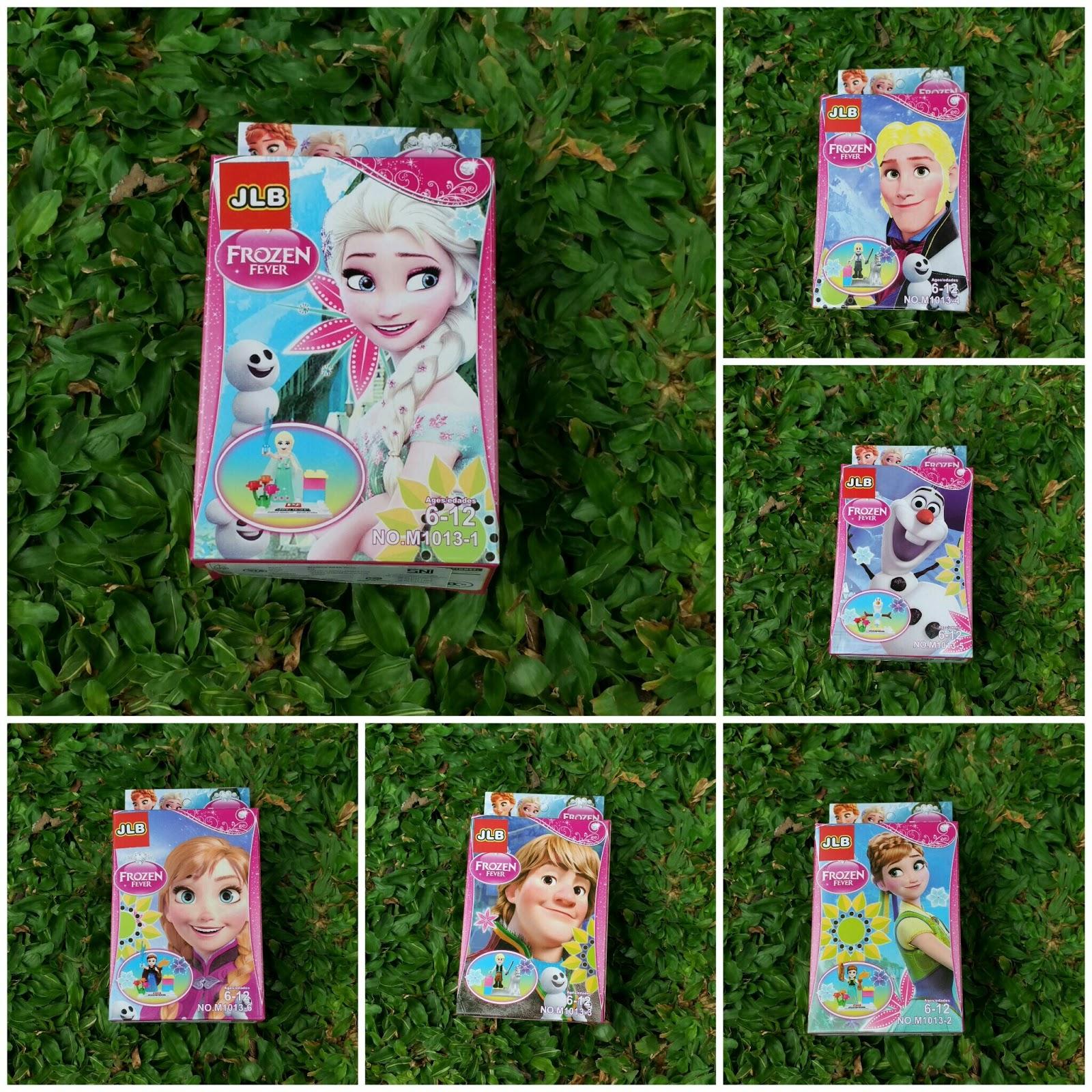 Frozen Fever JLB, Lego Frozen, Lego Frozen Fever, Lego Ana, Lego Elsa, Lego kristof, lego sven, lego olaf, pernak pernik frozen, mainan anak, mainan lego