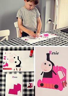 Rosie knutselwerkje puzzel - gratis printable