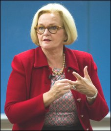 Senator Claire McCaskill voted for TPP