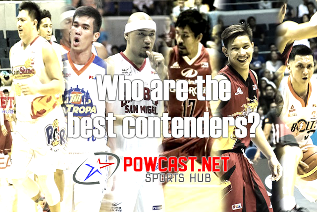 PBA Who are the best contenders to Win The Title?
