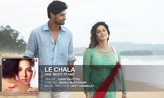 LE CHALA Hindi song by Jubin Nautiyal, Jeet Gannguli, Manoj Muntashir from movie ONE NIGHT STAND