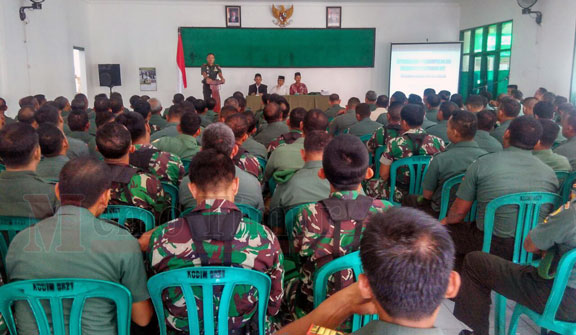 Baznas sosialisasi zakat di Kodim 0821 Lumajang