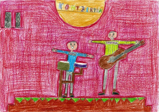 Ilustración del cuento realizado en 2015 en el colegio Gurutzeta