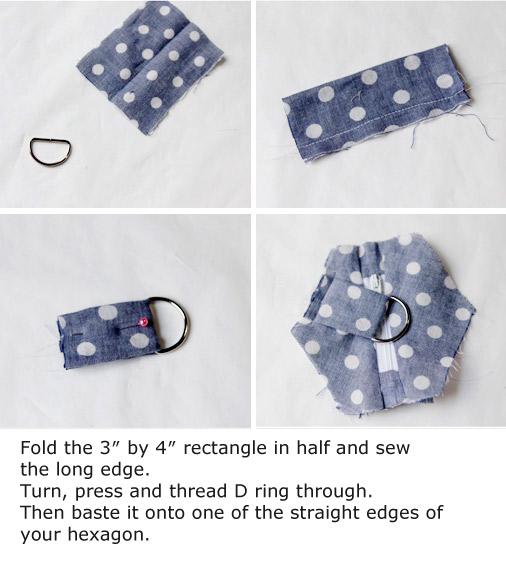 Hexagon Coin Pouch Tutorial