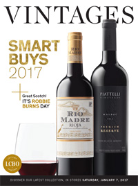 LCBO Wine Picks from January 7, 2017 VINTAGES Release