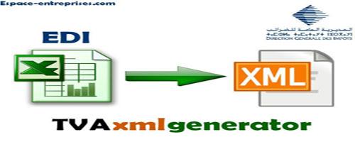 Application pour générer le Fichier XML du relevé des déductions de la TVA