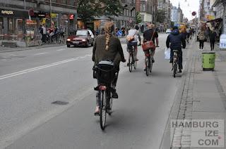 Kopenhagen - Radweg