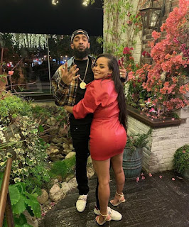 Nipsey Hussle and Wife