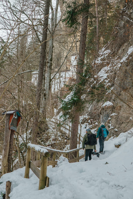 Nachtrodeln und Winterwandern in Saalfelden-Leogang  im Salzburgerland  Winterwanderung zur Einsiedelei  Nachtrodeln am Biberg 08