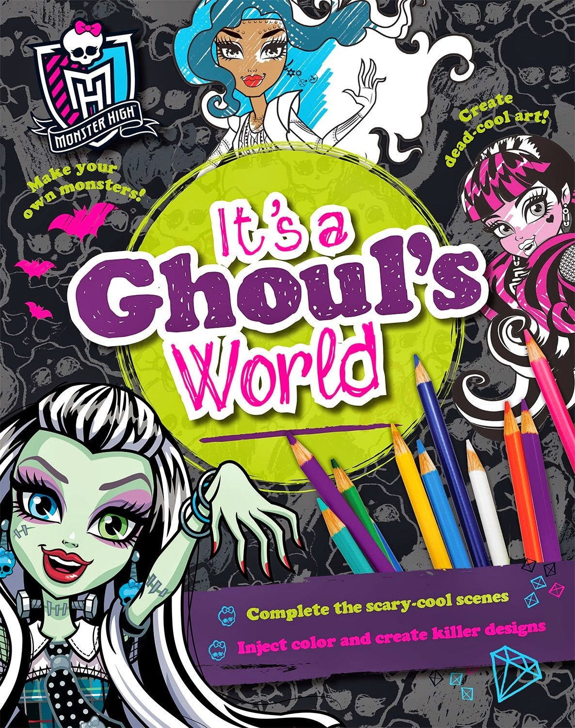 Monster High Libros Monstruo Perfectamente Imperfectos Nuevos Quotlibros Mh
