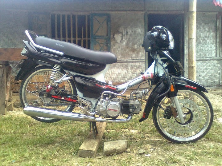 contoh modifikasi motor grand astrea
