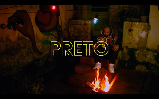 """O rapper PRETO em parceria com a BIA DOXUM lança o clipe """"Mais um menino Preto"""""""