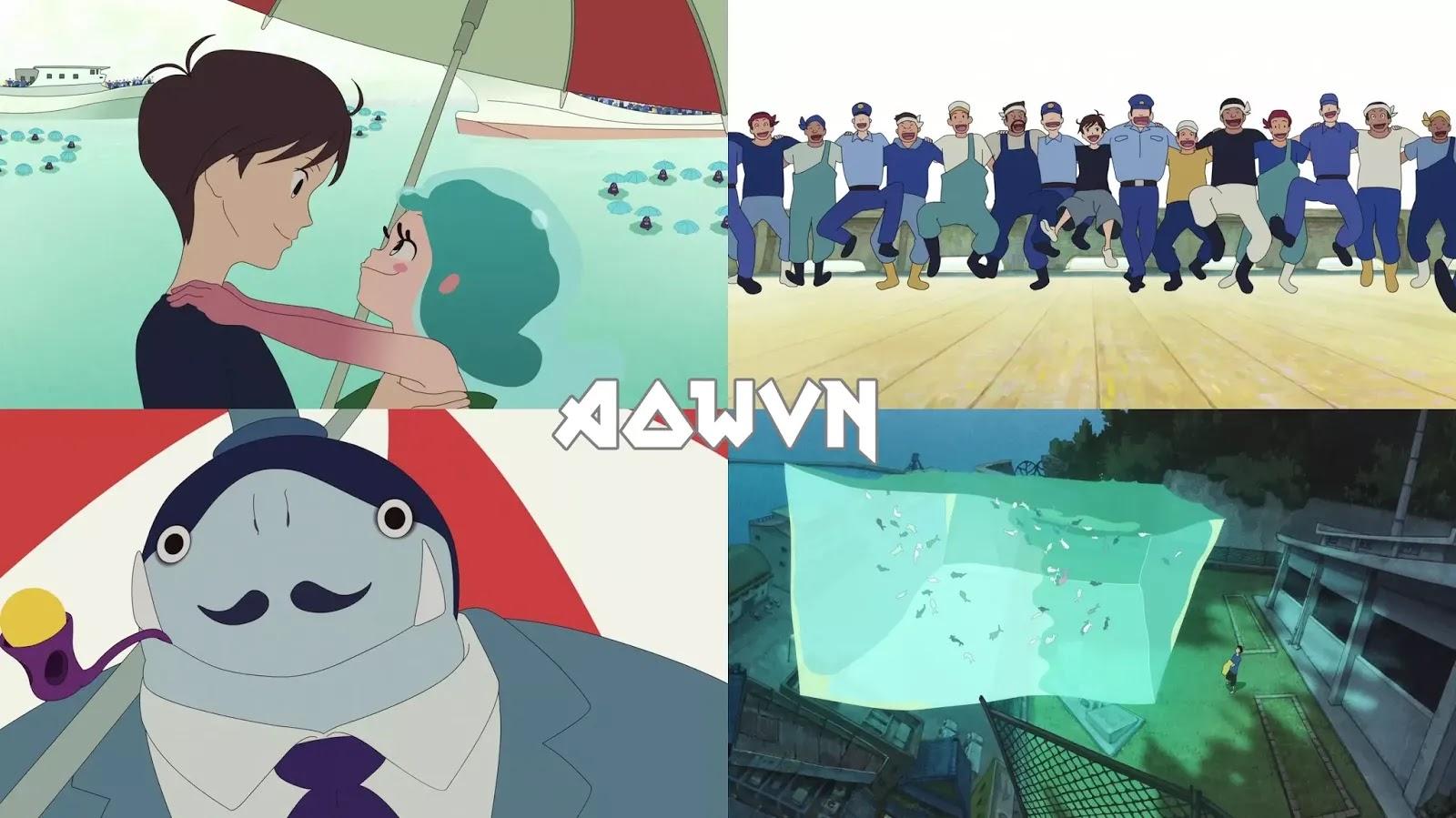 AowVN.org min%2B%25281%2529 - [ Anime 3gp Mp4 ] Yoake Tsugeru Lu no Uta | Vietsub - Movie Hay