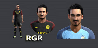 Face Ilkay Gundogan 2016 Pes 2013 By Rgr