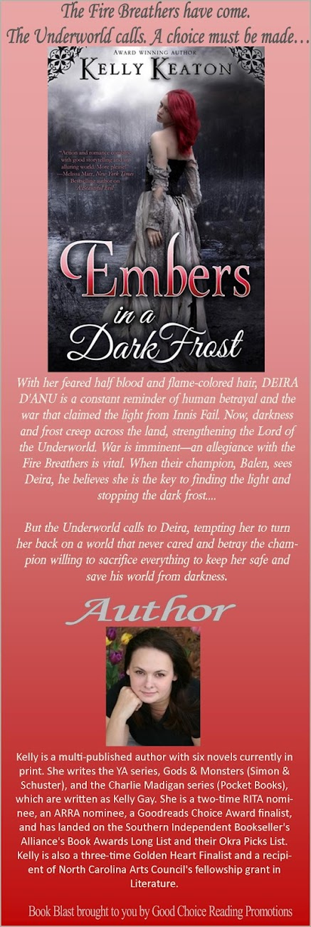 Book Blast: Embers In A Dark Frost