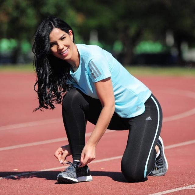 Yubelkis Peralta nueva imagen de la marca Adidas RD