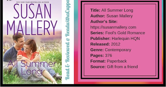 Book Review | All Summer Long | Susan Mallery