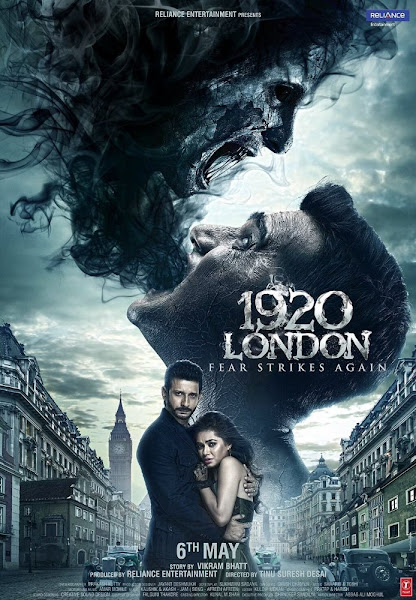Poster of 1920 London 2016 720p Hindi DVDRip Full Movie Download